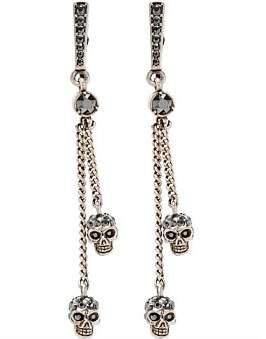 Alexander McQueen Thin Chain Earring