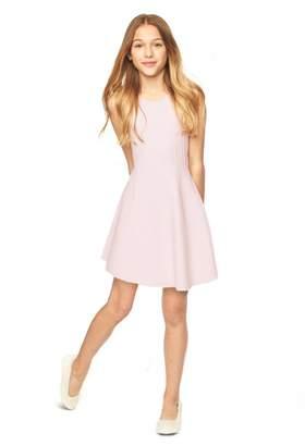 Milly Minis Textured Godet Dress