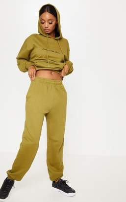 PrettyLittleThing Olive Casual Jogger