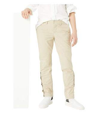 Tommy Hilfiger Adaptive Slim Stretch Chino Pants with Adjustable Waist and Velcro(r) and Magnetic Closure