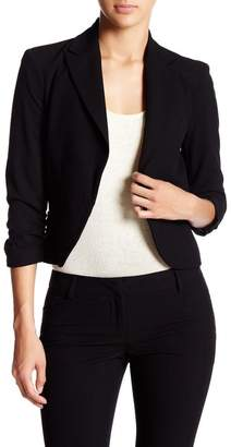 Atelier Luxe Ruched Sleeve Blazer (Petite)