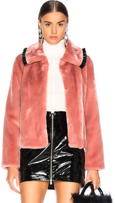 Shrimps Faux Fur Dara Jacket