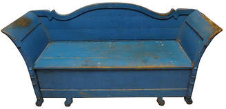 One Kings Lane Vintage Swedish Hand-Painted Sofa Bed