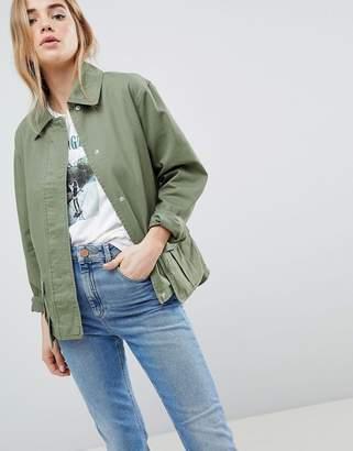 Asos Design DESIGN Washed Cotton Jacket