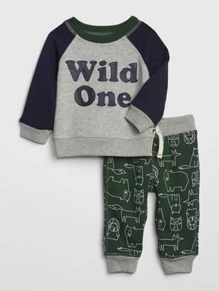 Gap Baby Pull-On Pants Set