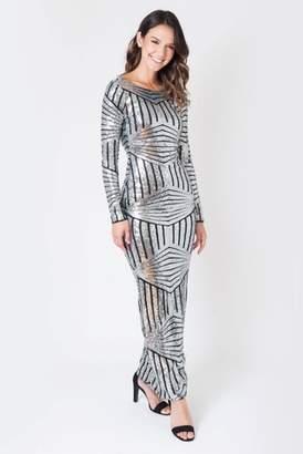 Next Womens Want That Trend Evening Sequin Maxi Dress