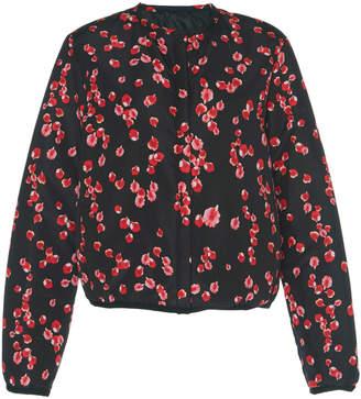 Giambattista Valli Petal Print Puffer Jacket