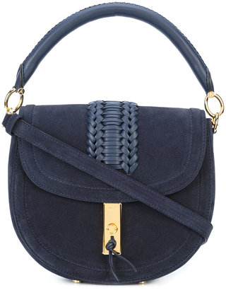woven detail shoulder bag
