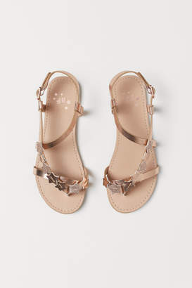 H&M Sandals with appliques