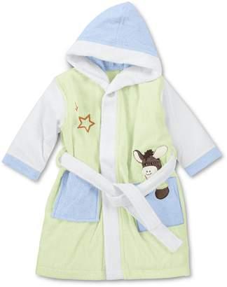 Sterntaler Hooded bathrobe Waldis and Emmi Age: 12-18 months Size: 86/92 Light Green / Blue