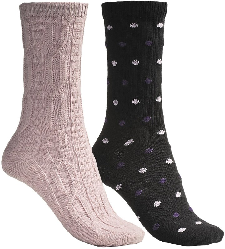 B.ella Dot and Solid Socks (For Women)