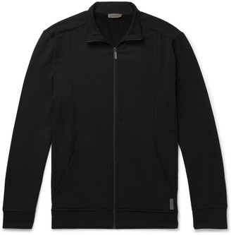 Zimmerli Slim-Fit Stretch-Jersey Zip-Up Jacket