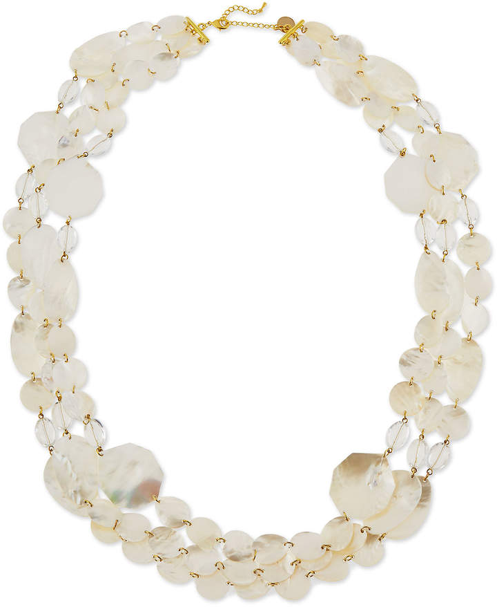 Viktoria Hayman Mother-of-Pearl Three-Strand Necklace