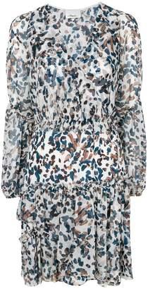 3.1 Phillip Lim V-neck printed flared dress