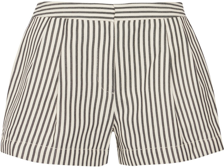 3.1 Phillip Lim 3.1 Phillip Lim Cotton-blend jersey shorts