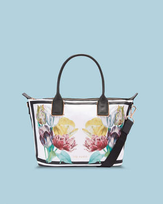 Ted Baker AMELIAA Tranquility small nylon tote bag