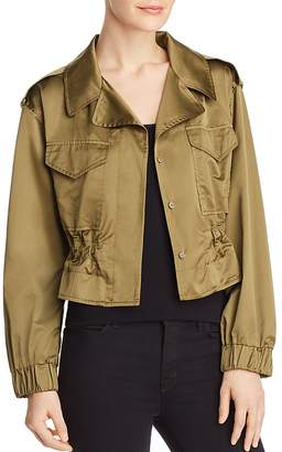 Milly Taffeta Tech Jacket