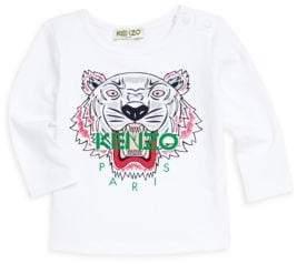 Kenzo Baby Girl's Tiger Print Long-Sleeve Tee