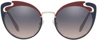 Miu Miu MU 57TS Butterfly Sunglasses