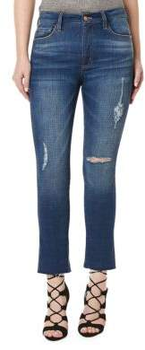 Buffalo David Bitton High Rise DIY Crop Jeans