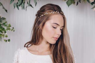 Carlisle Debbie Silver, Gold Or Rose Gold Wedding Headband India
