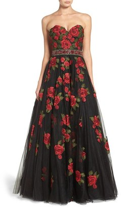 Women's Jovani Embellished Tulle Ballgown $718 thestylecure.com