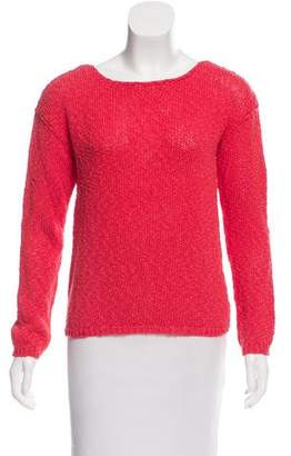 Alice + Olivia Long Sleeve Scoop Neck Sweater