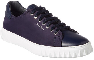 Salvatore Ferragamo Nubuck & Leather Sneaker