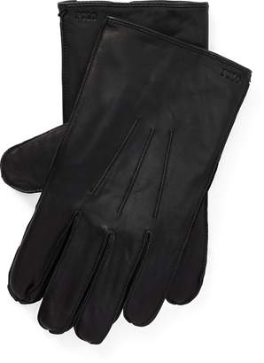 Ralph Lauren Nappa Leather Touch Gloves