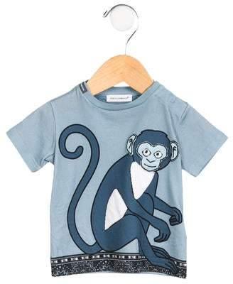 Dolce & Gabbana Boys' Graphic Knit T-Shirt