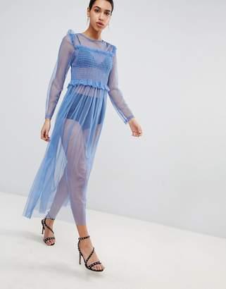 Love Mesh Maxi Dress