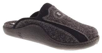 Romika Mokasso 246, Men's Open Back Slippers, Grey (anthrazit 700), 48