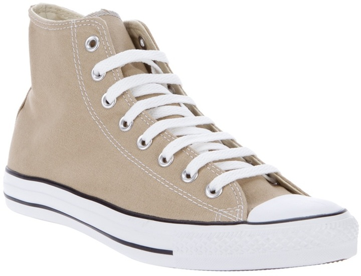 Converse HI-top canvas sneakers
