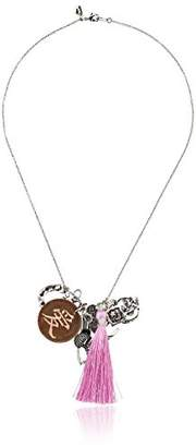 Alisa Michelle Fortune Formula Love Charm Chain Necklace