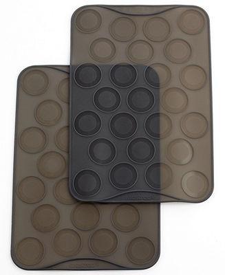 Mastrad CLOSEOUT! Silicone Set of 2 Macaron Baking Sheets