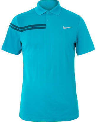 Nike Tennis Nikecourt Zonal Cooling Roger Federer Advantage Dri-Fit Tennis Polo Shirt
