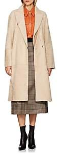 Boon The Shop Women's Lacon Reversible Belted Shearling Coat - Sand