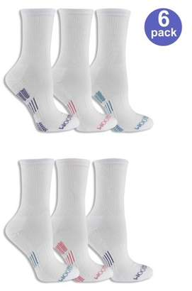 Fruit of the Loom Women's Everyday Active Crew Socks 6 Pack