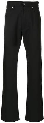 Armani Jeans straight leg trousers