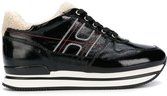 Hogan platform runner sneakers