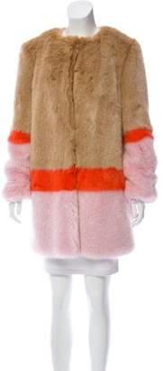 Shrimps Mabel Faux Fur Coat