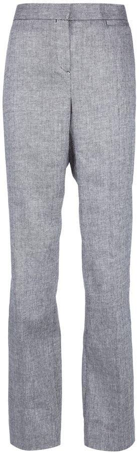 Tory Burch fine stripe trouser