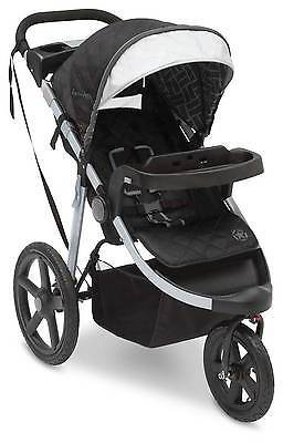 JeepJ is for Jeep Adventure All-Terrain Jogger - Charcoal Tracks