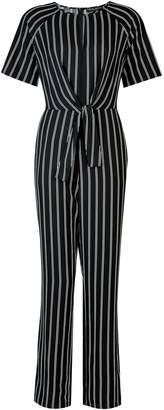 ecfa7e9aa4e Dorothy Perkins Womens   Black Tie Front Jumpsuit