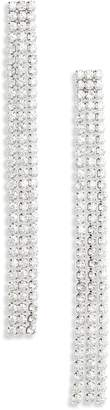 Lula Crystal Fringe Duster Earrings