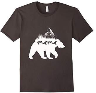 Mens Daddy Bear T-Shirt Papa for Mens Man Gift Christmas Birthday