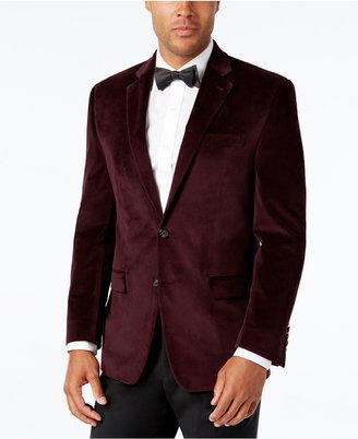Lauren Ralph Lauren Men's Classic-Fit Velvet Sport Coat $350 thestylecure.com