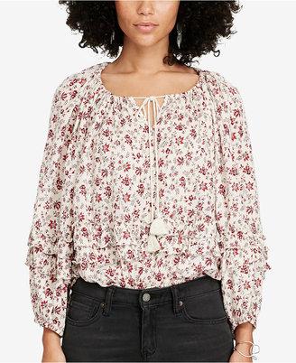 Denim & Supply Ralph Lauren Floral-Print Blouse $89.50 thestylecure.com