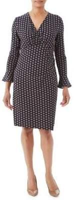 Olsen Nordic Mood Copper Dot Dress