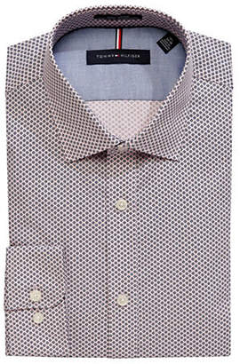 Tommy Hilfiger Slim-Fit Printed Non-Iron Dress Shirt